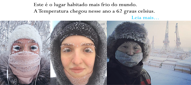 O lugar mais frio do mundo